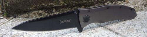 Kershaw Grid 2200 Taschenmesser Messer Einhandmesser 8Cr13MoV Stahl Stahlgriff