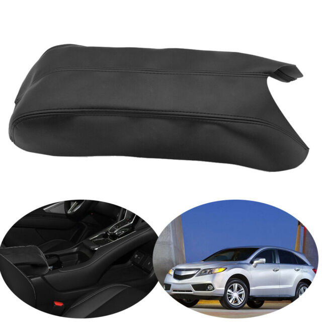 High Quality Center Console Lid Armrest Cover Skin Leather
