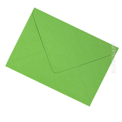 Fern Green Premium C6 114x162mm Envelopes for A6 Cards 100gsm FREE UK P/&P