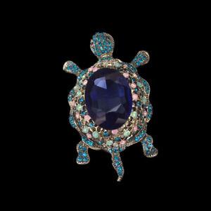 Fashion-Big-Turtle-Brooch-Pin-Pendant-Bling-Jewelry-Gifts-Women-New