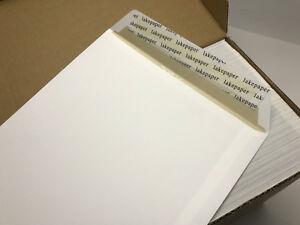 250 St Briefumschläge DIN A4 C4 extra stark 120 gr HK weiß ohne Fenster
