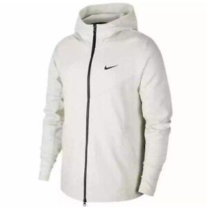 Nike-Sportswear-Men-039-s-Light-Bone-Black-Tech-Pack-Jacket-BV4489-072-Size-Med-Lg