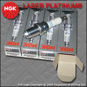 NGK-LASER-PLATINUM-SPARK-PLUG-SET-BKR6EQUP-x-4-STOCK-NO-3199-BMW-MINI