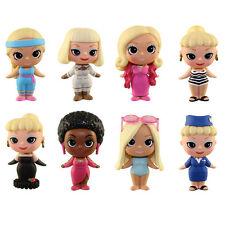 Funko Mystery Minis Vinyl Figures - Barbie - SET OF 8 Base Figures - New Loose