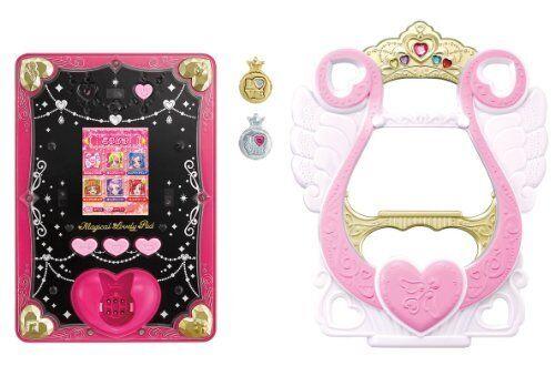 Doki Doki Pretty Cure Magical Lovely Pad DX Perfect Harp Set Japan