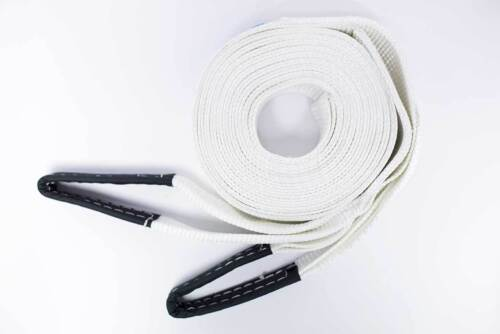 8T Tow Strap Heavy Duty Tow Rope Towing Pull Strap Recovery Winch 12m x75mm