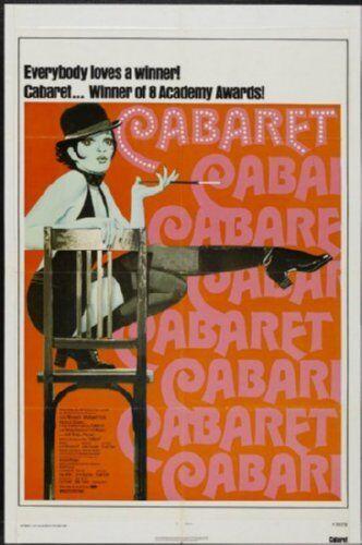 Cabaret Movie Poster 24inx36in
