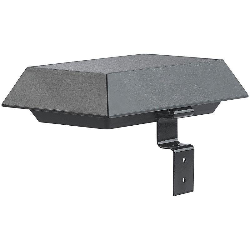 Lunartec 3er-Set 2in1-Solar-LED-Dachrinnen- & Wandleuchten, PIR-Sensor, PIR-Sensor, PIR-Sensor, 300 lm   | Bekannt für seine gute Qualität  | Optimaler Preis  | Clever und praktisch  75055f