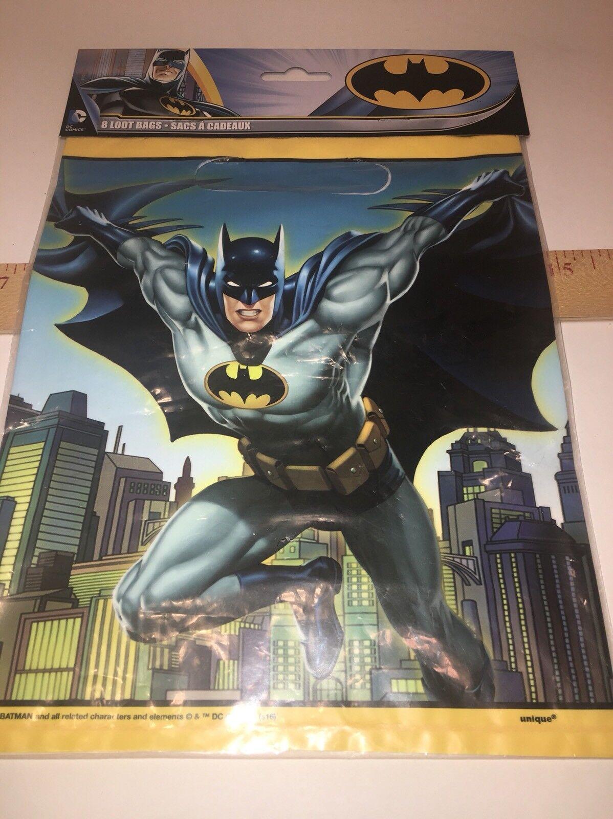 Catwoman DC Comics 1991 Loot Treat Bags Party Favor New Sealed Vtg Batman 24pcs