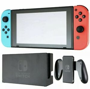 Nintendo Switch 32GB Neon Red/Blue Console Pre-Owned