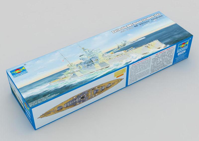Trumpeter 1 350 05324 HMS Queen Elizabeth