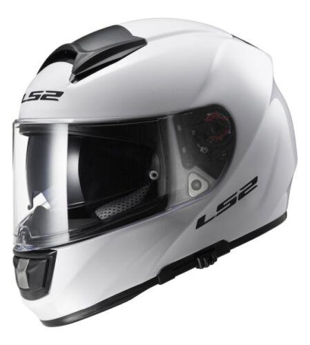 Casque LS2 FF397 Vector FT2 Gloss Blanc