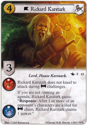 A Game of Thrones Pick card Game of Thrones LCG A Tale of Champions 61-120
