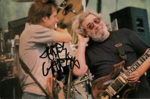 JERRY GARCIA SIGNED AUTOGRAPH 4X6 PHOTO POSTCARD - THE GRATEFUL DEAD RARE!! JSA