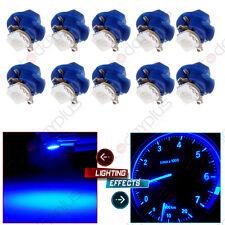 10X B8.4D 5050 SMD LED Bulb Dash Gauge Instrument LED Blue For BMW Benz Dodge