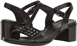 83bd7b8674e1 Image is loading ECCO-Womens-Shape-35-Studded-Dress-Sandal-Pick-
