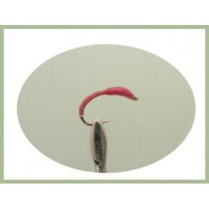 Fly Fishing Mixed 10//12//14 Crisp Packet Buzzers 8 Pack Red Epoxy Crisp Buzzer
