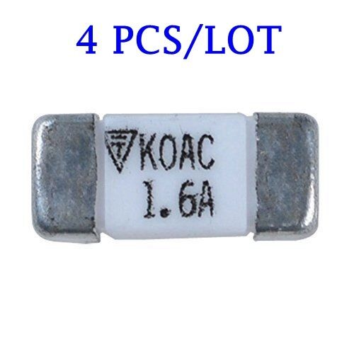 4X Roland Fuse KOAC CCF1NTE 1.6A for SP-300 SP-300V SP-540V Main board-22555109