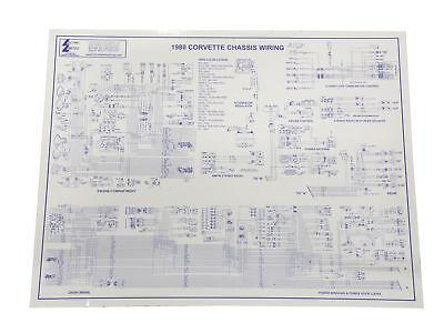 1980 Corvette Wiring Diagram 17x22 | eBay
