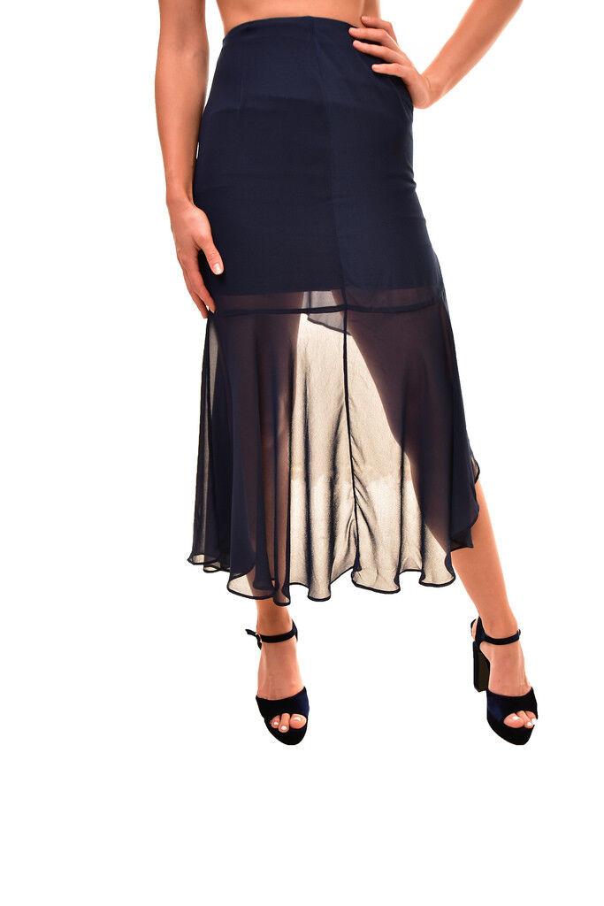 Keepsake Women's Authentic Aster Lace Midi Skirt Navy Size S RRP  BCF85