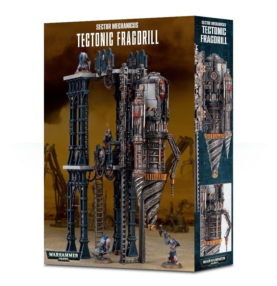 Warhammer 40K Sector Mechanicus Tectonic Fragdrill