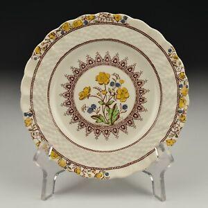 "Copeland Spode Porcelain Buttercup Bread and Butter Plate Older Backstamp 6.5"""