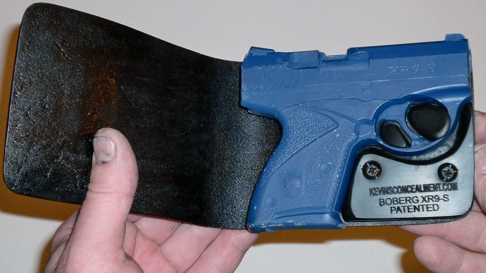 Wallet Holster For Full Concealment - Boberg XR9-S - Kevin's Concealment