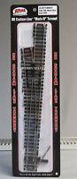 Atlas Ho 6 Turnout Left Code 100 Black Tie Nickel Silver Rail Train Track 283