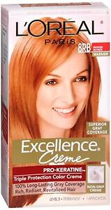 Image Is Loading L 039 Oreal Excellence Creme 8rb Medium Reddish