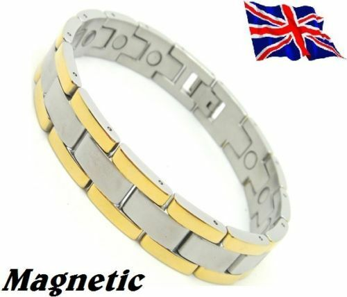 Magnet Magnetic Stainless Steel Energy Power Bracelet Health Bio Armband Ciff