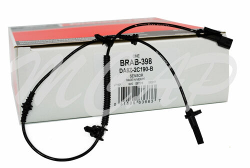 ABS Wheel Speed Sensor Rear Motorcraft BRAB-398