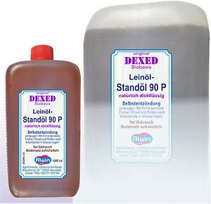 Standoel-P90-1-Liter-PE-Flasche-Leinoel-Standoel-Leinoelstandoel