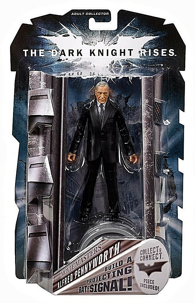 THE DARK KNIGHT RISES Movie Masters Collection__ALFRED PENNYWORTH 6   figure_MIP