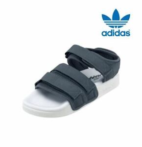 791e1358338e Image is loading New-Adidas-Women-039-s-Adilette-Sandals-GREY-