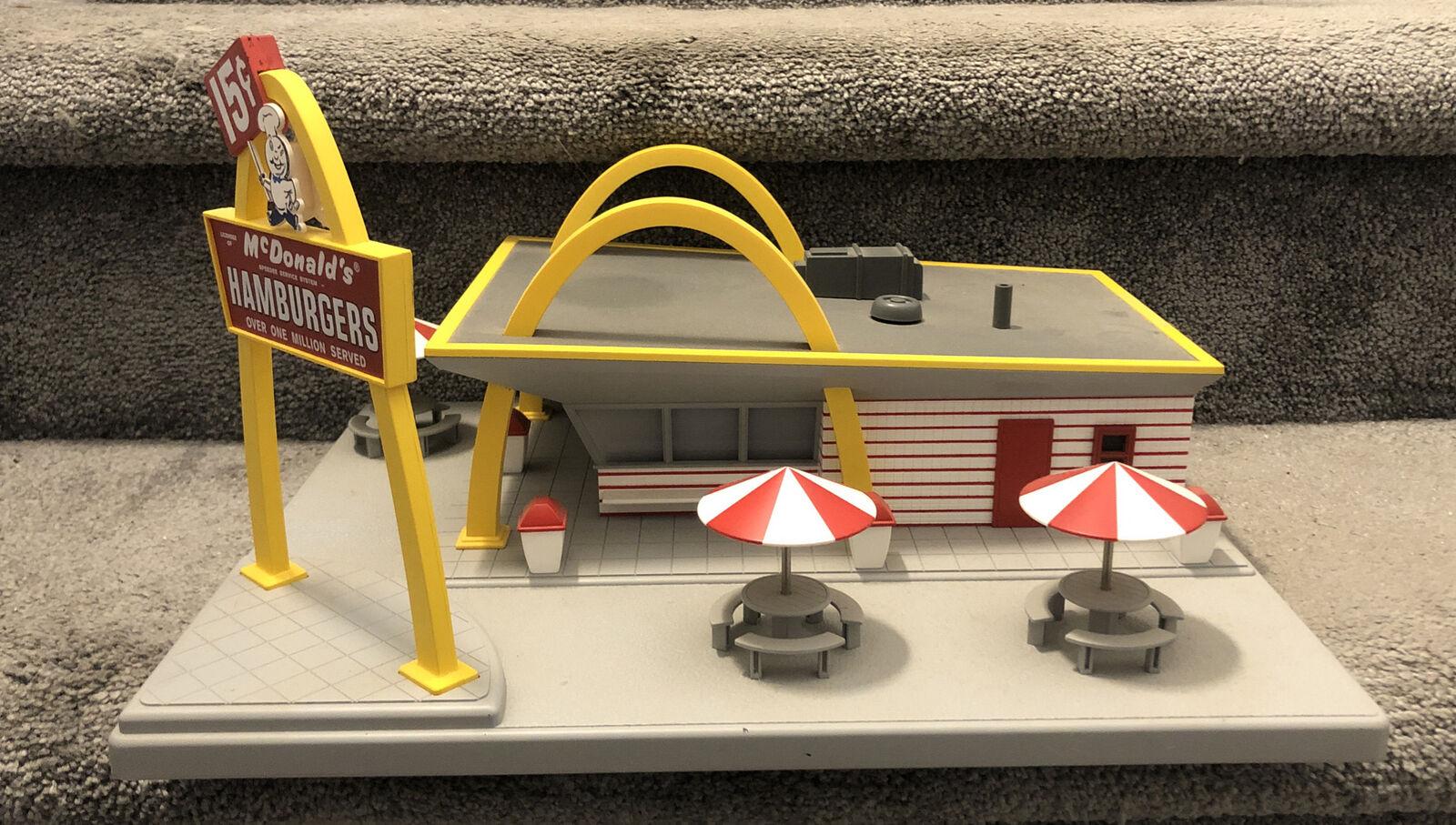 MTH Rail King Original Mcdonald/'s Restaurant Building 30-9034 for sale online
