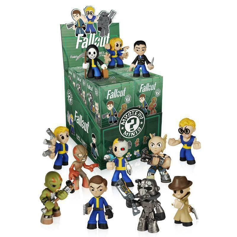 Full Case Of 12 Funko Mystery Minis Vinyl Figures Fallout chance of chase ones