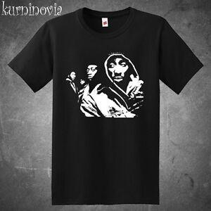 33a77b3e New Tupac Shakur *Juice Movie Rap Hip Hop Icon Men's Black T-Shirt ...