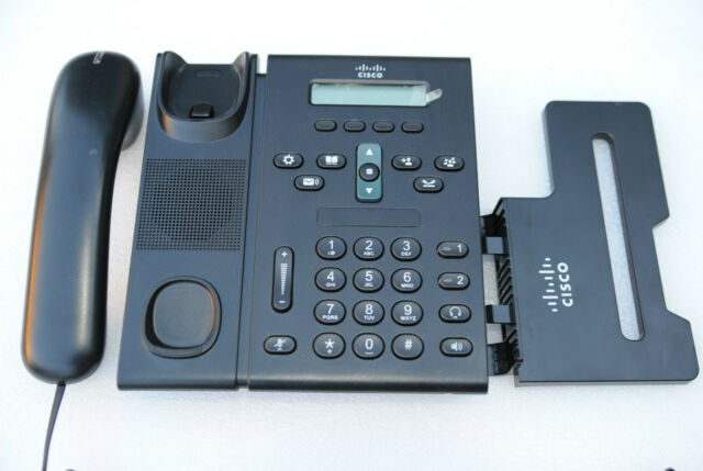 CISCO 6921 CP-6921-C-K9 IP Phones Handsets in Charcoal - 1 YEAR WARRANTY/ TAXINV