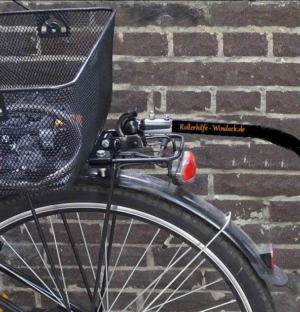 Fahrrad Anhängerkupplung mit Anbauplatte 140mm Lang + Gegenplatte