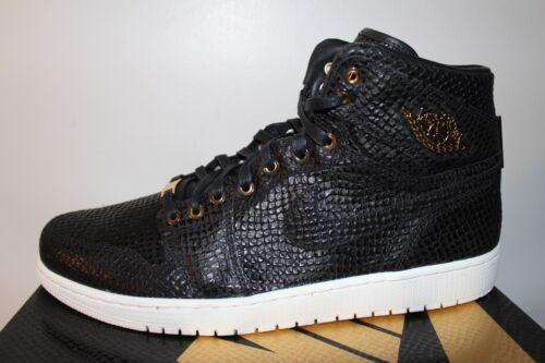 Pinnacle Negro 14 Tamaño Hombres Gold Sneakers Retro Jordan White 1 Nuevo Air wqaIOfT