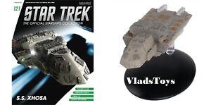 Eaglemoss Star Trek Starships SS Xhosa Vehicle with Magazine #121