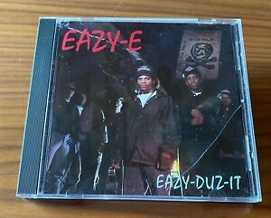 Eazy-E - Eazy-Duz-It (Clean Version) - 1988 US CD - Ruthless Records N.W.A
