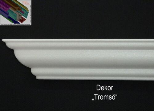 "90° Innenecken Dekor /""Tromsö/"" Stuckprofil Stuckleiste Zierprofil 4 Stck"