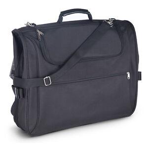 Kenley-Luggage-Travel-Suit-Dress-Garment-Bag-Case-Carrier-4-Piece-Suitbag-Suiter