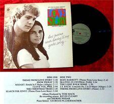 LP Love Story Francis Lai Soundttrack 1972 Ali McGraw R