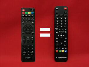 Mando a Distancia REEMPLAZABLE TV LED ICARUS // Modelo TV: IC-CURVE55-HD