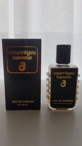 Courreges Homme Vintage Eau de Toilette 86º 100ml neu. Rarität  mitFQ Tb6G6