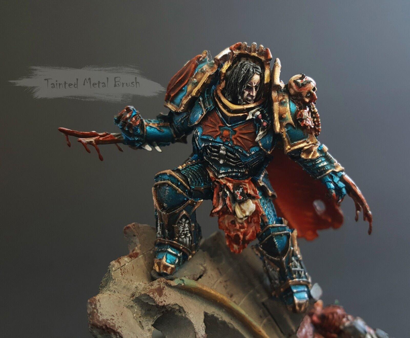 Warhammer Konrad Curze Primarch de la noche señores pintura de comisión