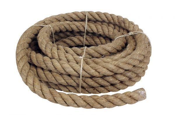 Tauwerk, Schiffstau Länge 10 m, Ø Tau: 3 cm zum oder Dekorieren oder zum als Handlauf 639921