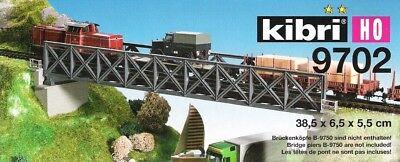 kibri 39702 H0 Fachwerk-Stahlbrücke eingleisig
